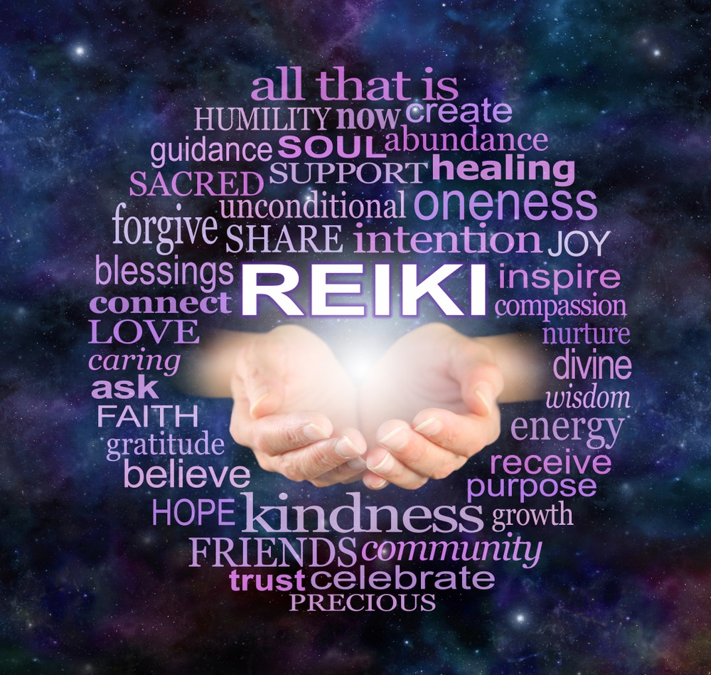 shows how Reiki helps us