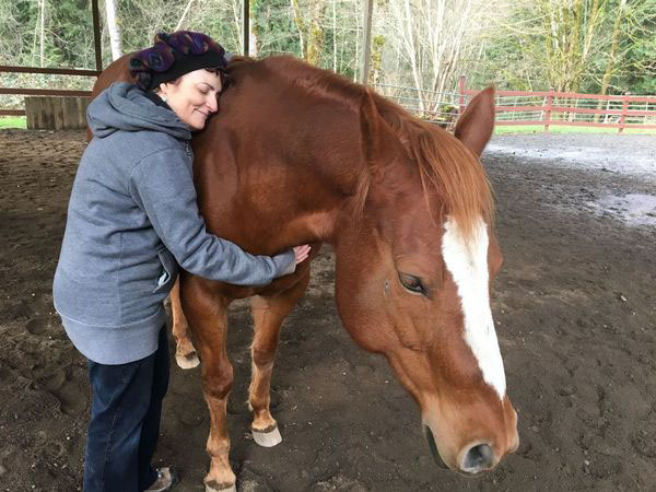 Horse Healing -- Hug a Horse